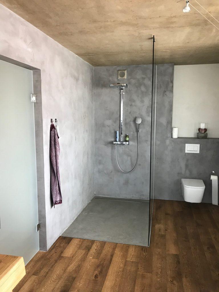 Beton Cire Wand Amp Bodenbelag 183 Bodenbau W Schmidt Gmbh